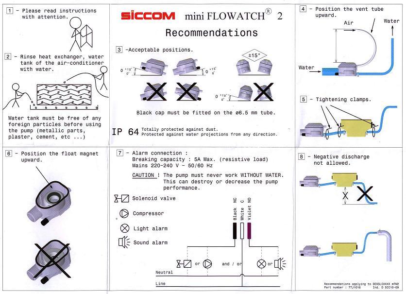 Pompa Condensazione Mini FLOWATCH
