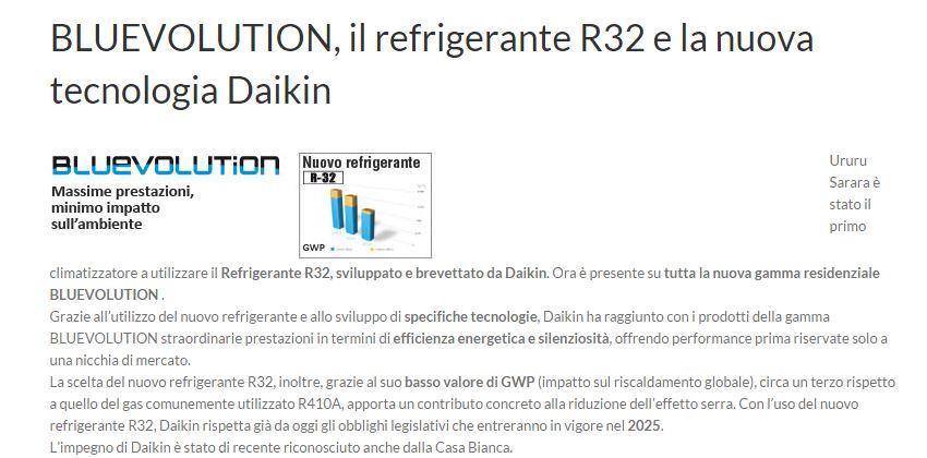 Daikin Monosplit Inverter Emura WI-FI (R-32)