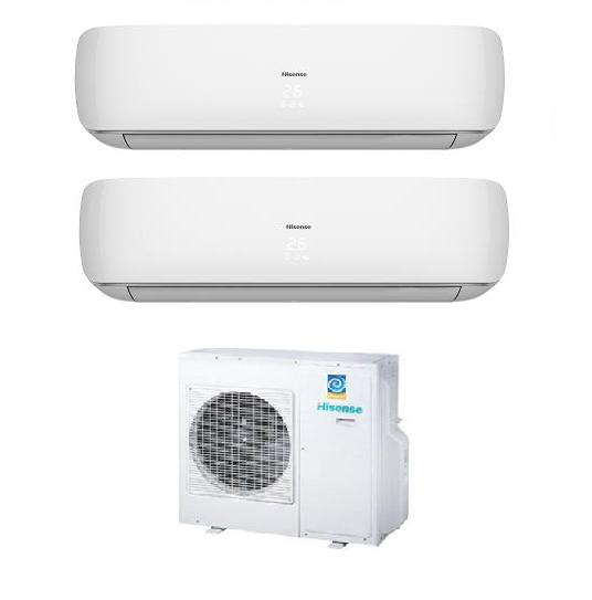 Hisense dual split inverter serie slim apple pie vendita for Climatizzatori multisplit