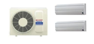 Sharp Dual Split Deluxe Inverter