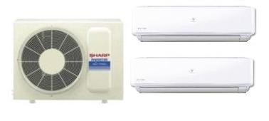 Sharp Dual Split HI-WALL Inverter