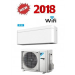 DAIKIN CLIMATIZZATORE MONO INVERTER STYLISH WHITE FTXA35AW/RXA35A WI-FI INVERTER PC GAS R-32 12000 A+++