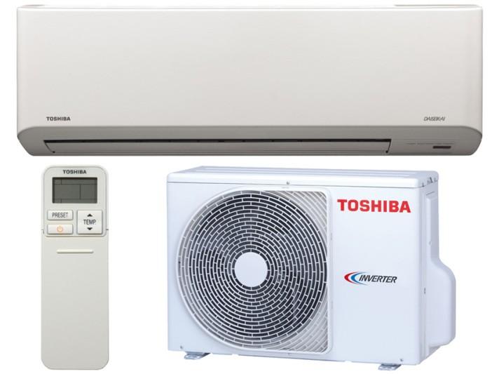 TOSHIBA MONO AKITA EVO DC HYBRID INVERTER RAS-B10N3KV2-E/RAS-10N3AV2-E 9000 BTU/h Inverter P/C