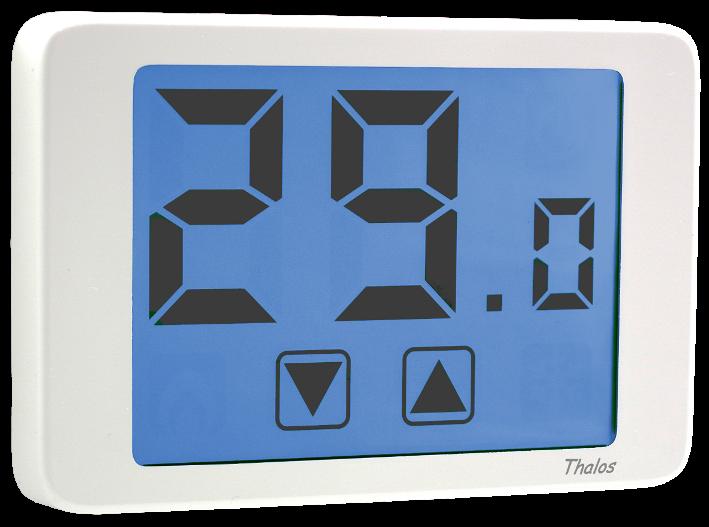 Vemer thalos termostato elettronico touch screen cod for Termostato ambiente vemer
