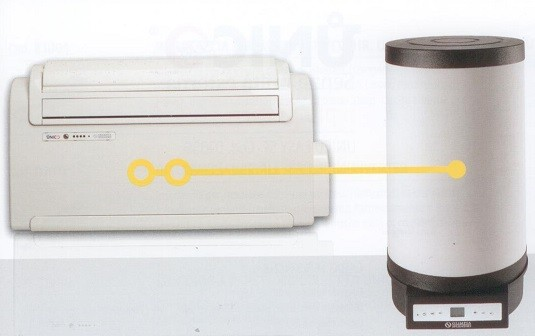 OLIMPIA SPLENDID UNICO BOILER MASTER + WALL (Cod. 01422 + 599509A)
