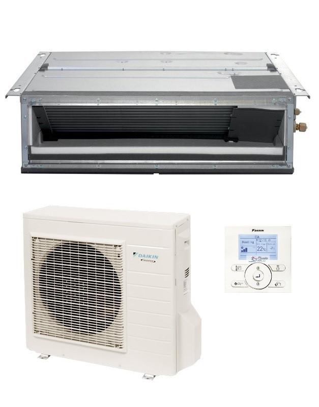 DAIKIN CLIMATIZZATORE MONO Canalizzato FDXM25F3-F/RXM25M9/N9 (Comando a filo standard incluso) - Gas R-32