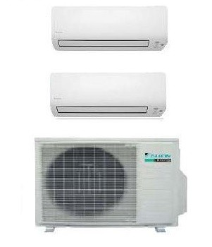 DAIKIN CLIMATIZZATORE DUAL Serie K 2MXS50H + FTXS25K + FTXS35K 9+12
