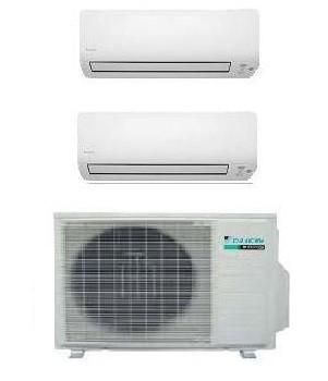 DAIKIN CLIMATIZZATORE DUAL Serie K 2MXS50H + CTXS15K + CTXS35K 5+12