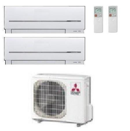 MITSUBISHI ELECTRIC KIT DUAL MXZ-3E68VA + 2 x MSZ-SF42VE 15+15 - Gas R-410a