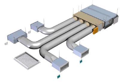 AIRZONE KIT COMPLETO EASYZONE ACCESSORI PER DIFFUSIONE 5 AMBIENTI (BOX 1 + BOX 2)