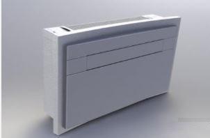 ZYMBO ITALIA InVISE WZ-32 HP ON/OFF - Climatizzatore Senza Unità Esterna - Gas R410A