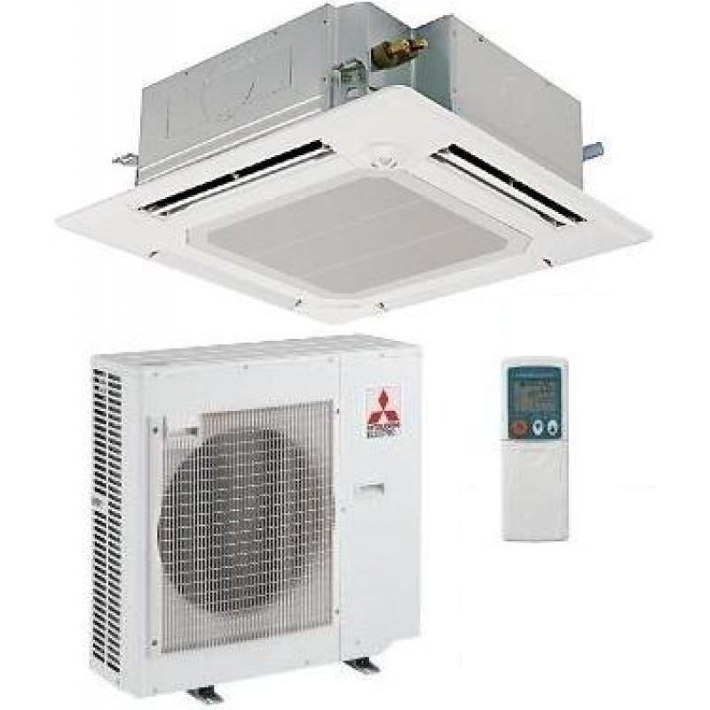 MITSUBISHI ELECTRIC Power Inverter PLA-RP60BA/PUHZ-ZRP60VHA Cassetta 90x90 MONOFASE (Griglia inclusa, Comando escluso)