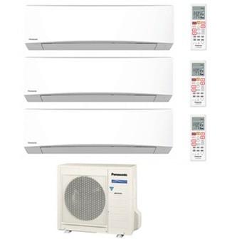 PANASONIC TRIAL Standard Inverter TZ CU-3RE18SBE + 2 x CS-TZ20TKEW + CS-TZ25TKEW 7+7+9 BTU