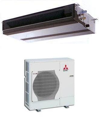 MITSUBISHI Electric ZUBADAN PEAD-RP100JA-Q/PUHZ-SHW112VHA Canalizzabile MONOFASE (senza comando)