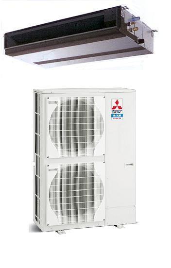 MITSUBISHI Electric Power Inverter PEAD-RP125JA-Q/PUHZ-ZRP125VKA Canalizzabile MONOFASE (senza comando)