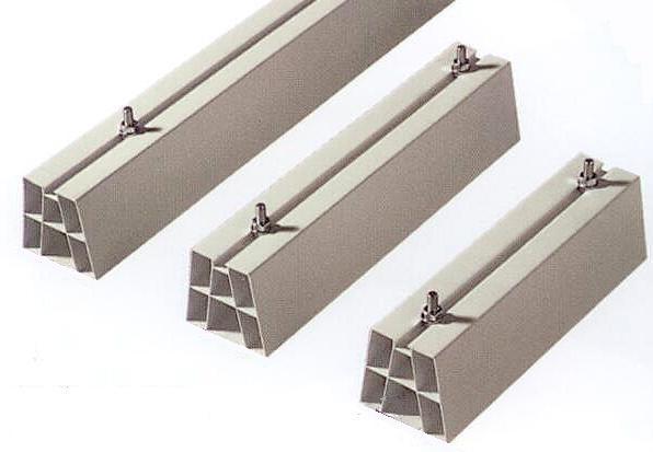 ACCESSORI - BASI A SUPPORTO IN PVC 35 x 10 x 10