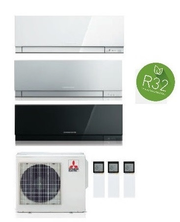 MITSUBISHI ELECTRIC KIT TRIAL KIRIGAMINE ZEN MXZ-3F54VF + 3  x MSZ-EF25VE3-W/S/B INV. 9+9+9 (Gas R-32)