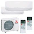 MITSUBISHI ELECTRIC CLIMATIZZATORE DUAL MXZ-2DM40VA + 2 x MSZ-DM25VA INVERTER P/C 9+9