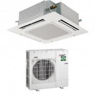 MITSUBISHI ELECTRIC Power Inverter PLA-ZM71EA/PUZ-ZM71VHA Cassetta 90x90 MONOFASE (Griglia PLP-6EA inclusa) - Gas R-32