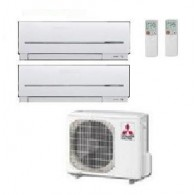 MITSUBISHI ELECTRIC KIT DUAL MXZ-2D33VA  + 2 x MSZ-SF25VE 9+9