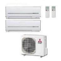MITSUBISHI ELECTRIC KIT DUAL MXZ-2D42VA  + MSZ-SF15VA + MSZ-SF25VE 5+9