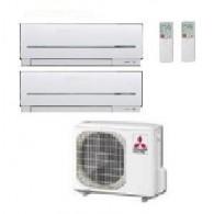 MITSUBISHI ELECTRIC KIT DUAL MXZ-2D53VA  + MSZ-SF25VE + MSZ-SF42VE 9+15