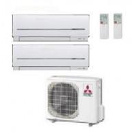 MITSUBISHI ELECTRIC KIT DUAL MXZ-2D53VA + MSZ-SF15VA + MSZ-SF50VE 5+17