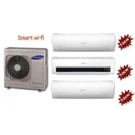 SAMSUNG TRIAL Serie AR7000M Smart WI-FI AJ068FCJ3EH/EU + 2 x AR09HSSDB + AR18HSSDB 9+9+18