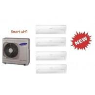 SAMSUNG QUADRI Serie AR7000M Smart WI-FI AJ080FCJ4EH/EU + 4 x AR09KSPDBWKNEU 9+9+9+9