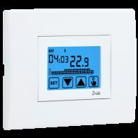 VEMER IRIDE - Cronotermostato touch screen DA INCASSO (Cod. VE456000) - ACCESSORI