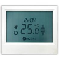 AIRZONE ACCESSORI AZATACTOZCSB Termostato Superficie Tacto Cablato per Innobus Pro32 e Acuazone Colore Bianco