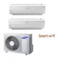 SAMSUNG DUAL Serie AR5000M Smart WI-FI AJ050FCJ2EH/EU + AR09HSFNB + AR18HSFNB 9+18