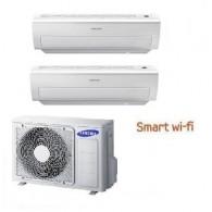 SAMSUNG DUAL Serie AR5000M Smart WI-FI AJ050FCJ2EH/EU + 2 x AR09HSFNB 9+9