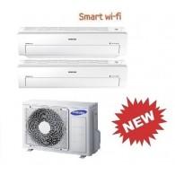 SAMSUNG DUAL Serie AR5500M Smart WI-FI AJ050FCJ2EH/EU + AR09KSWNAWKNET + AR18MSWNAWKNEU 9+18