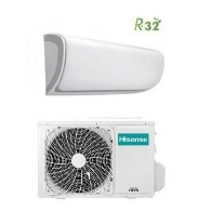 HISENSE CLIMATIZZATORE MONO Inverter SERIE SILENTIUM AST-09UW4RXXQA 9000 BTU/h P/C WI-FI - Gas R-32