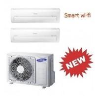 SAMSUNG DUAL Serie AR7000M Smart WI-FI AJ040FCJ2EH/EU + 2 x AR09KSPDBWKNEU 9+9