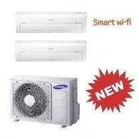 SAMSUNG DUAL Serie AR7000M Smart WI-FI AJ040FCJ2EH/EU + 2 x AR07KSPDBWKNEU 7+7