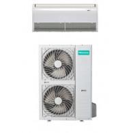 HISENSE CLIMATIZZATORE MONO Inverter PAVIMENTO/SOFFITTO AUV140UR4SC3/AUW140U6SP3 42000 BTU/h P/C (Telecomando infrarossi incluso)