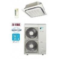 DAIKIN Cassetta da incasso Round Flow FCQG140F-I/RZQG140L7V1 48000 BTU/h SMART INVERTER Telecomando infrarossi & griglia standard inclusi