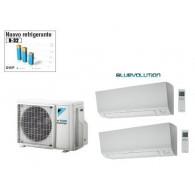 DAIKIN CLIMATIZZATORE DUAL PERFERA 2MXM50M + FTXM25M + FTXM35M 9+12 (OFFERTA SPECIALE)