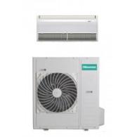 HISENSE CLIMATIZZATORE MONO Inverter PAVIMENTO/SOFFITTO AUV125UR4SC3/AUW125U6ST3 36000 BTU/h P/C (Telecomando infrarossi incluso)