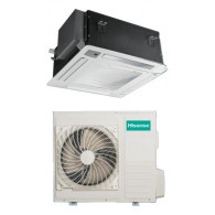 HISENSE CLIMATIZZATORE MONO Inverter CASSETTA AUC105UR4SGB3/AUW105U4SA3 32000 BTU/h P/C (Pannello PE-DA-D29 & Telecomando inclusi)