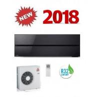 MITSUBISHI ELECTRIC Kirigamine Style Onyx Black MSZ-LN50VGB/MUZ-LN50VG 18000 BTU WI-FI A+++/A++ - Gas R-32