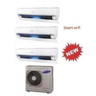 SAMSUNG TRIAL Serie AR9000M Smart WI-FI AJ068FCJ3EH/EU + 3 x AR09JSPFBWKNEU 9+9+9