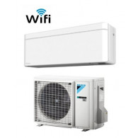 DAIKIN CLIMATIZZATORE MONO INVERTER STYLISH WHITE FTXA42AW/RXA42A WI-FI INVERTER PC GAS R-32 15000 A++
