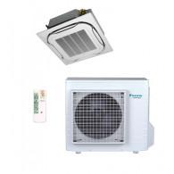 DAIKIN Cassetta da incasso Round Flow FCAG60A-IG/RXM60M9 21000 BTU/h (Telecomando a infrarossi & griglia standard inclusi) - Gas R-32