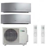 DAIKIN CLIMATIZZATORE DUAL Emura 2MXS40H + FTXG25LS + FTXG35LS 9+12
