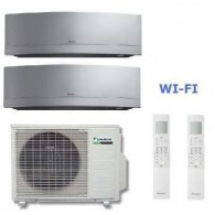 DAIKIN CLIMATIZZATORE DUAL Emura 2MXS50H + FTXG20LS-W + FTXG50LS-W 7+17 WI-FI