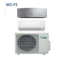 DAIKIN CLIMATIZZATORE DUAL 2MXS40H + FTXS25K + Emura FTXG35LS-W WI-FI 9+12