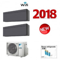 DAIKIN CLIMATIZZATORE DUAL 2MXM50M + 2 x STYLISH BLACKWOOD FTXA25AT WI-FI 9+9